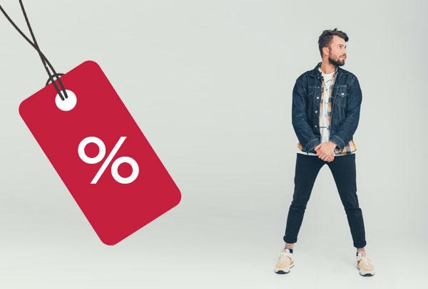 Mens discounts - NS King